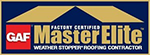 GAF Master Elite Contractor in NJ
