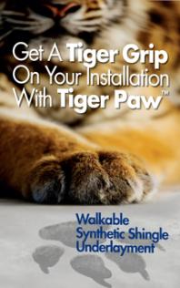 Free Gaf Tiger Paw Breathable Felt Offer See Details