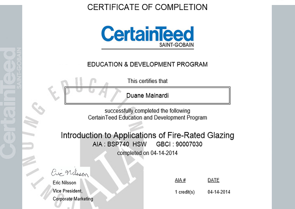 Introduction to Applications of Fire Rated Glazing