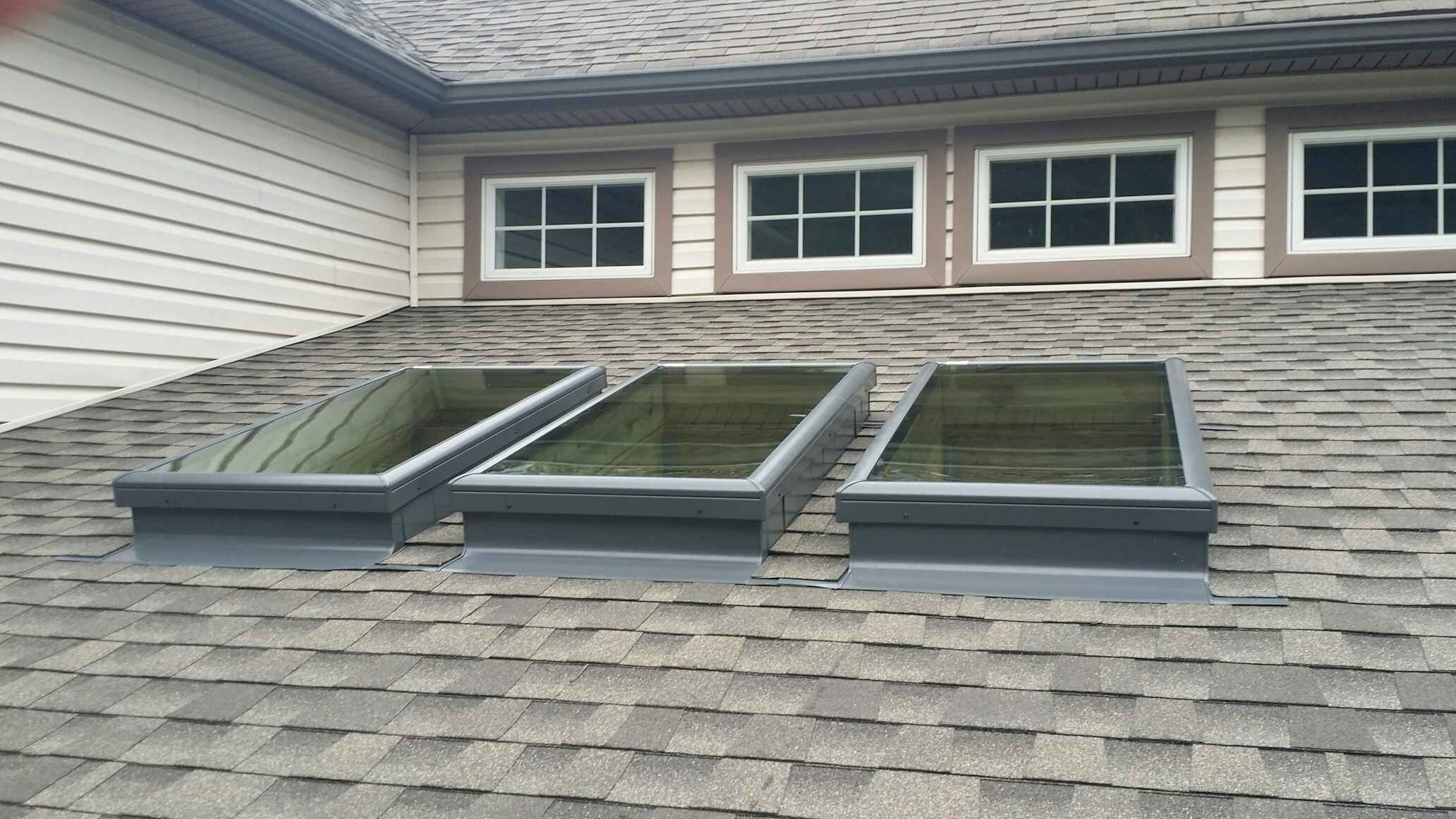 Gaf Timberline Hd Roofing System With Pewter Gray Shingles