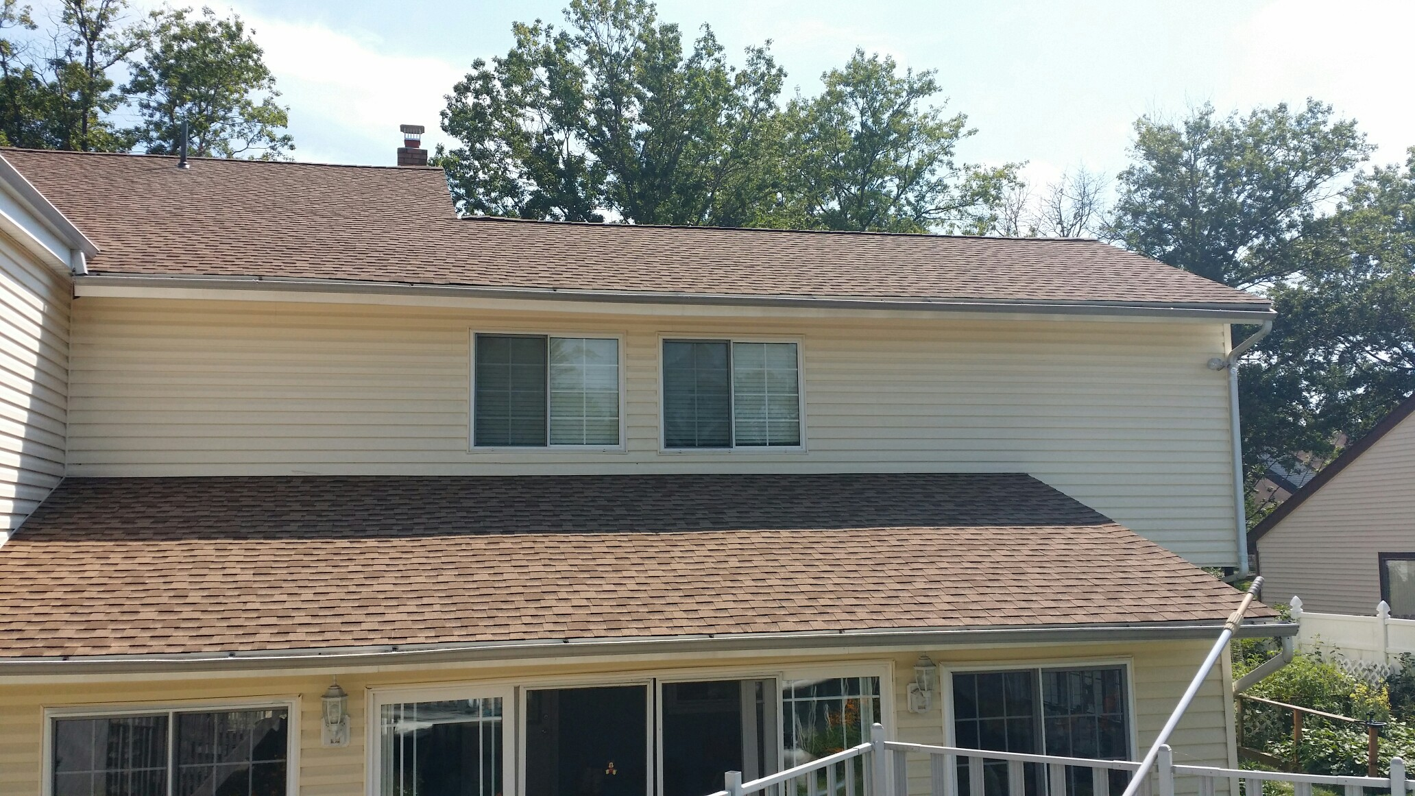 GAF Timberline HD Roofing System With Shakewood Shingles