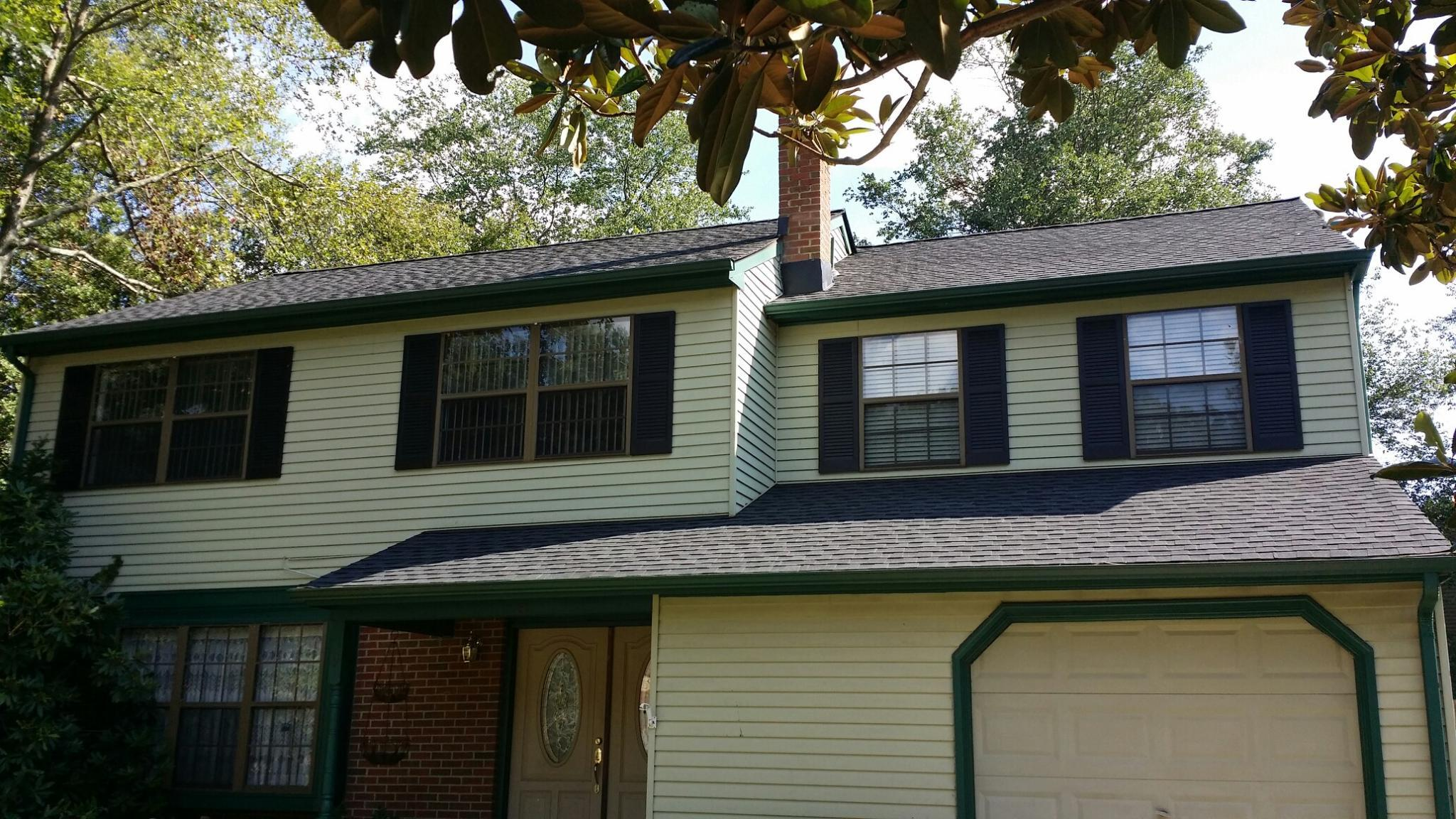 Gaf Timberline Hd Roofing System With Charcoal Shingles