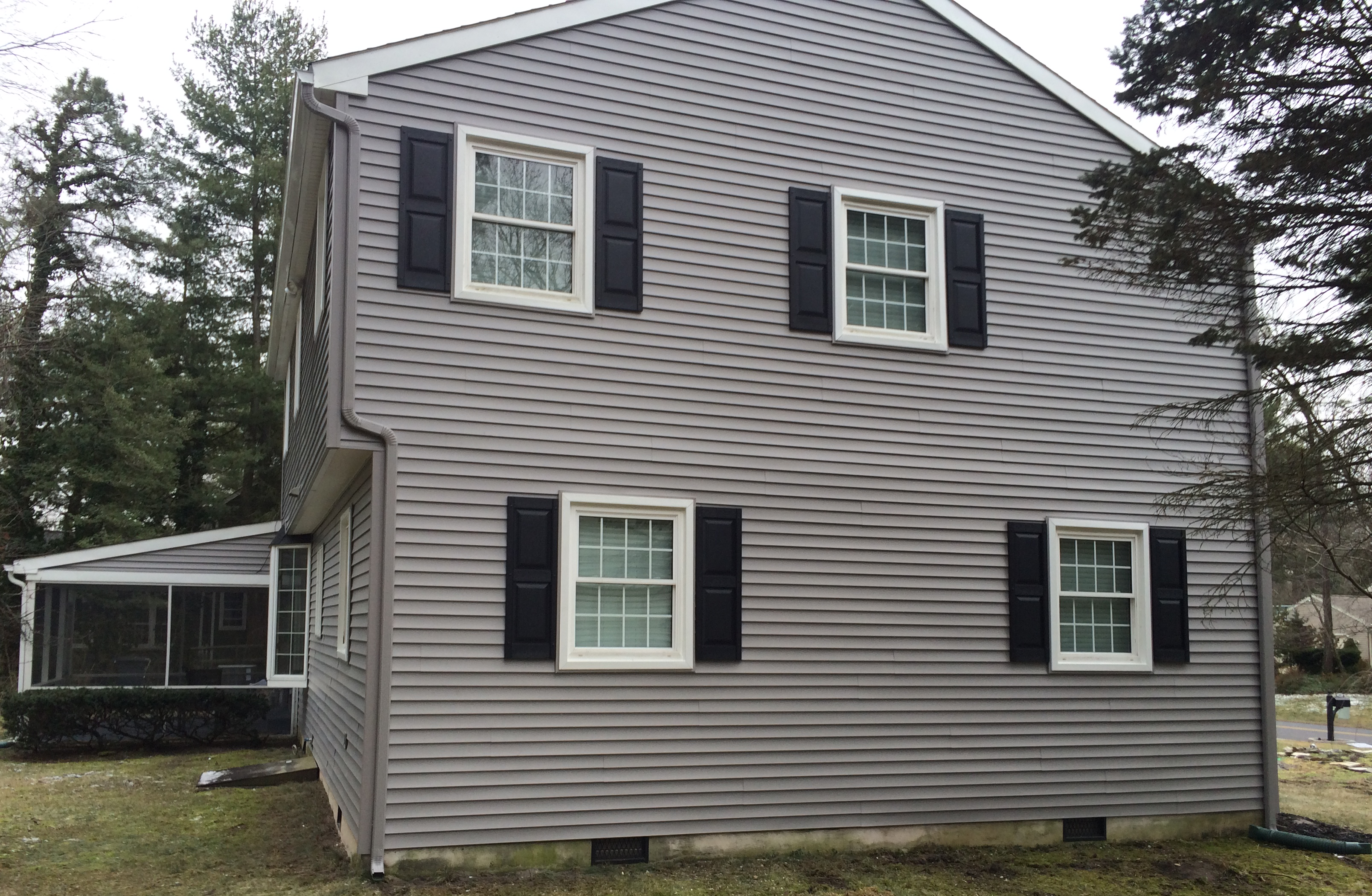 Certainteed Mainstreet Double 4 Granite Gray Siding