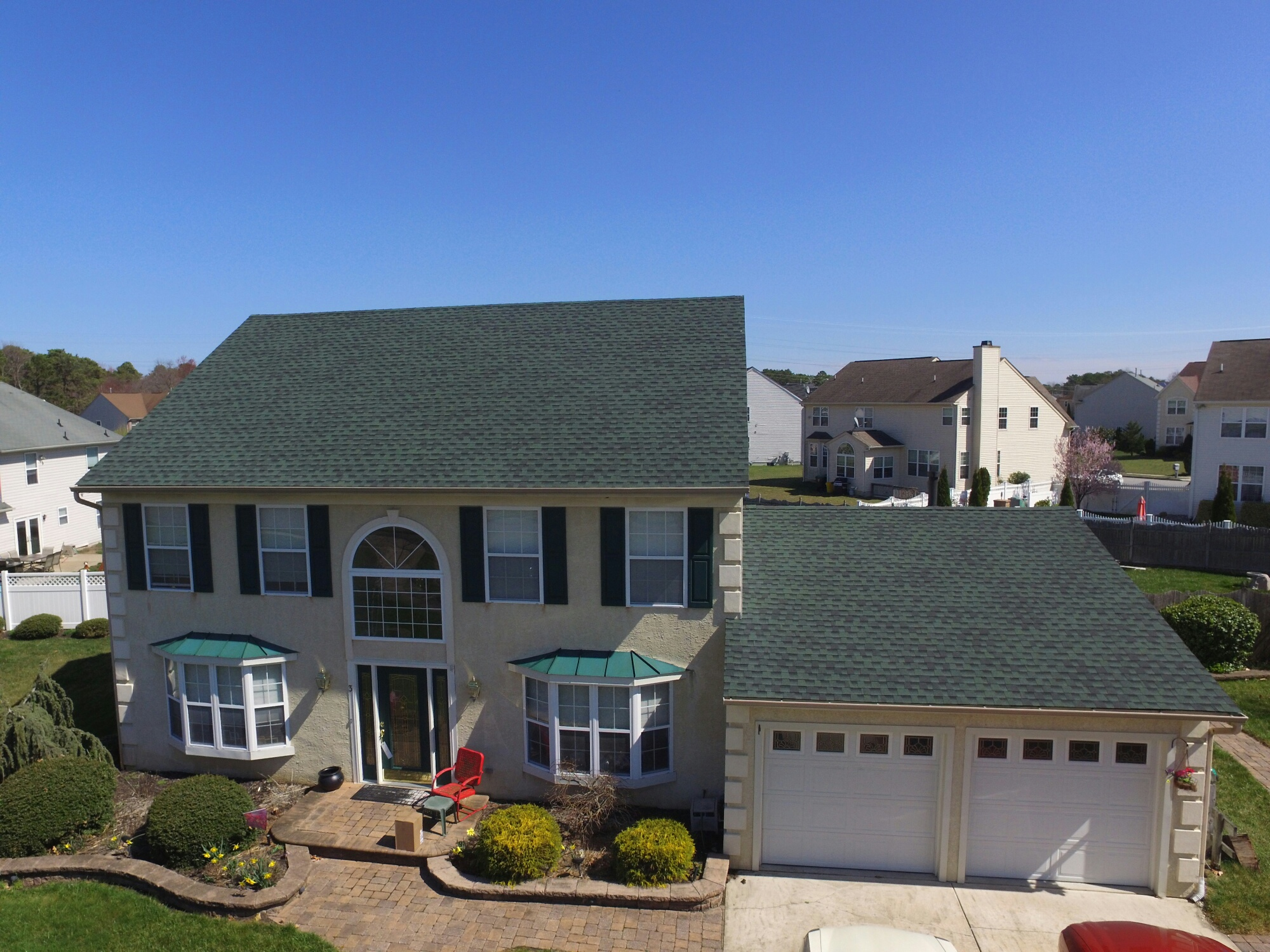 Gaf Timberline Hd Roofing System With Hunter Green