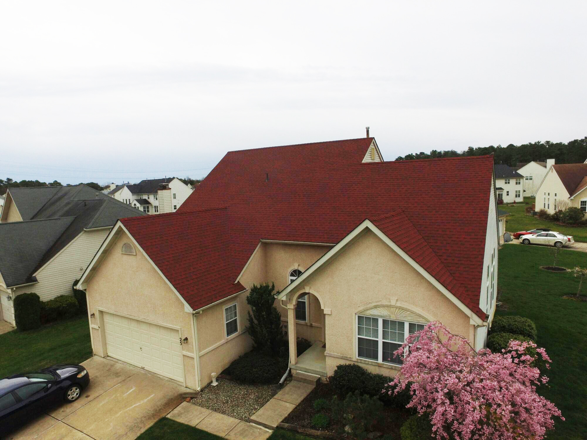 Gaf Timberline Hd Lifetime Roofing System With Patriot Red