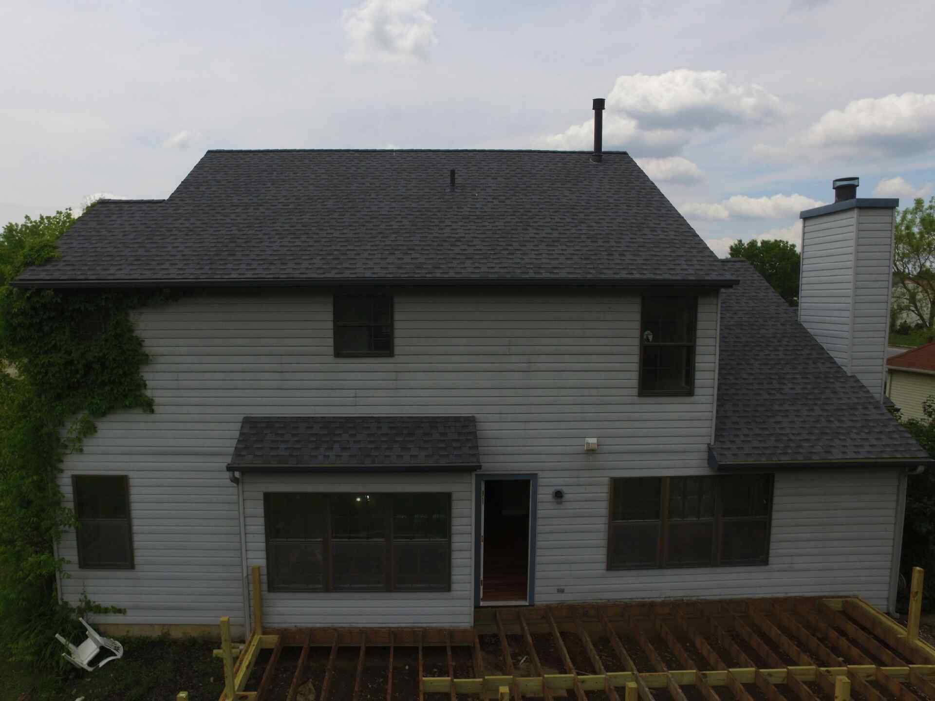 Gaf Timberline Hd Lifetime Roofing System With Pewter Gray