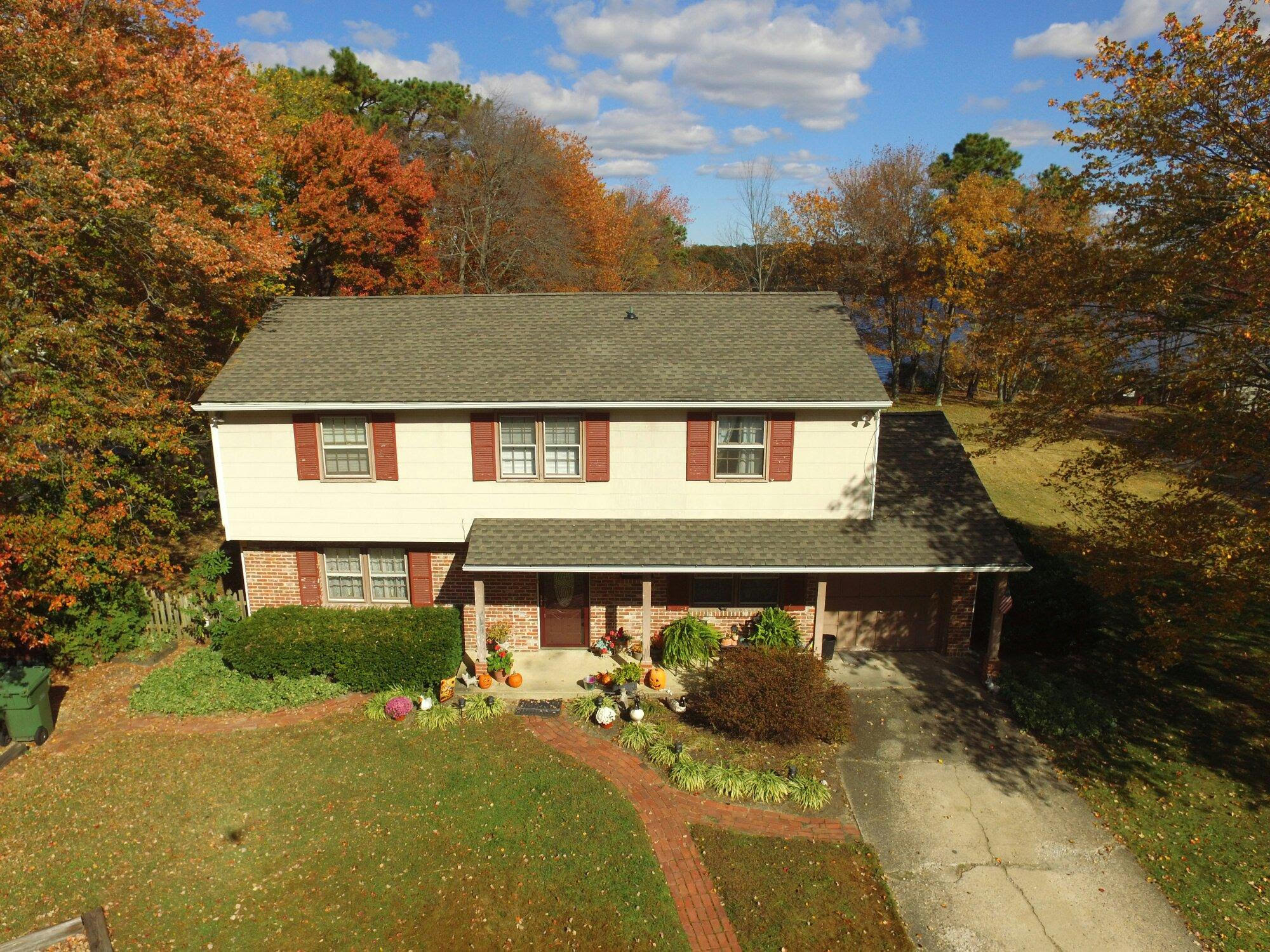 GAF Timberline HD Lifetime Roofing System With Weathered Wood Shingles