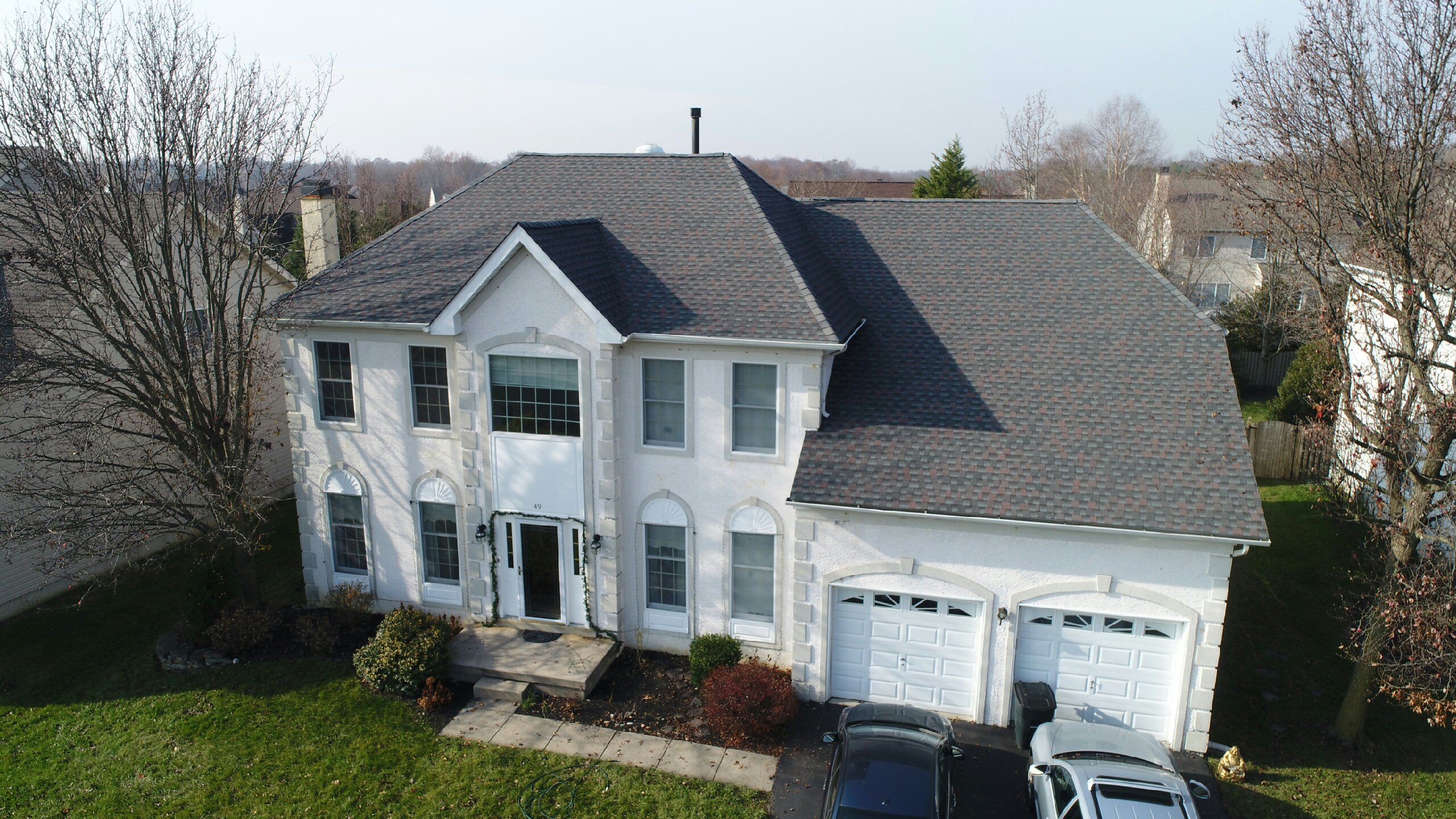GAF Timberline HD Lifetime Roofing System With Wiliamsburg Slate Shingles
