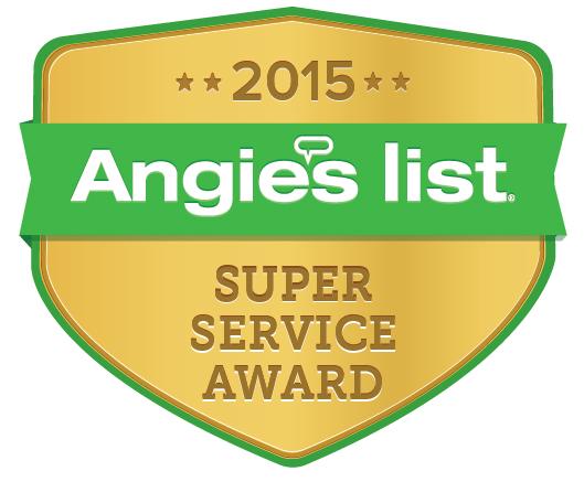 Angie's List Super Service Award 2015