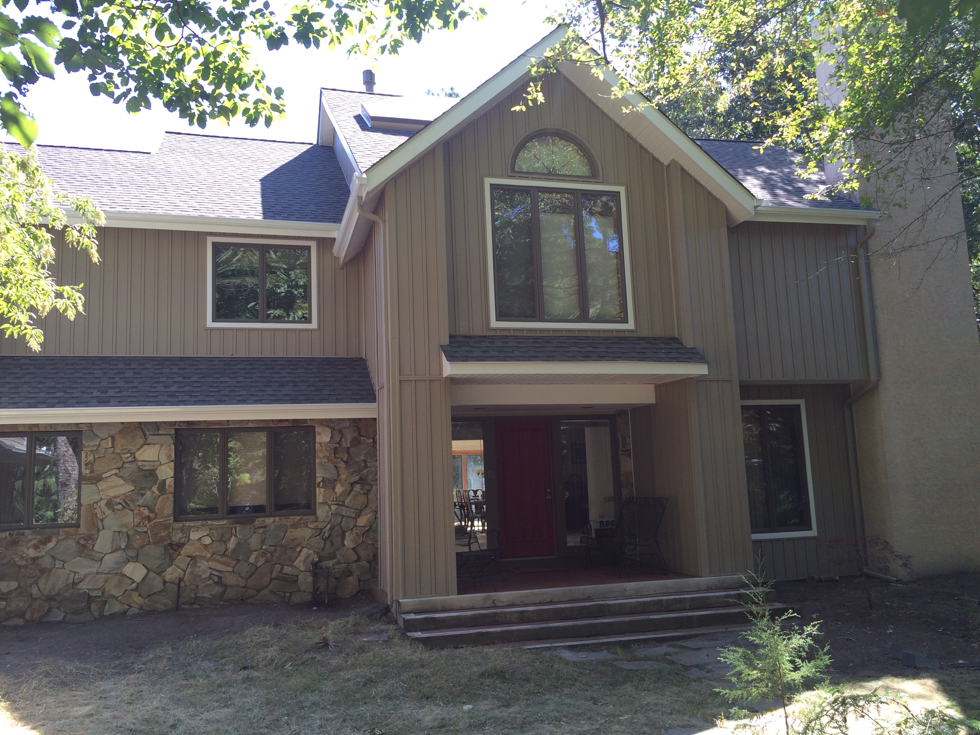 Gaf Timberline Hd Lifetime Roofing System With Weathered