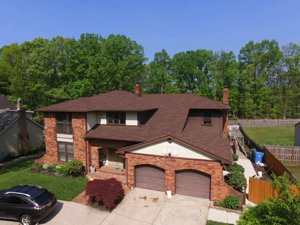 Gaf Timberline Hd Lifetime Roofing System With Hickory Shingles