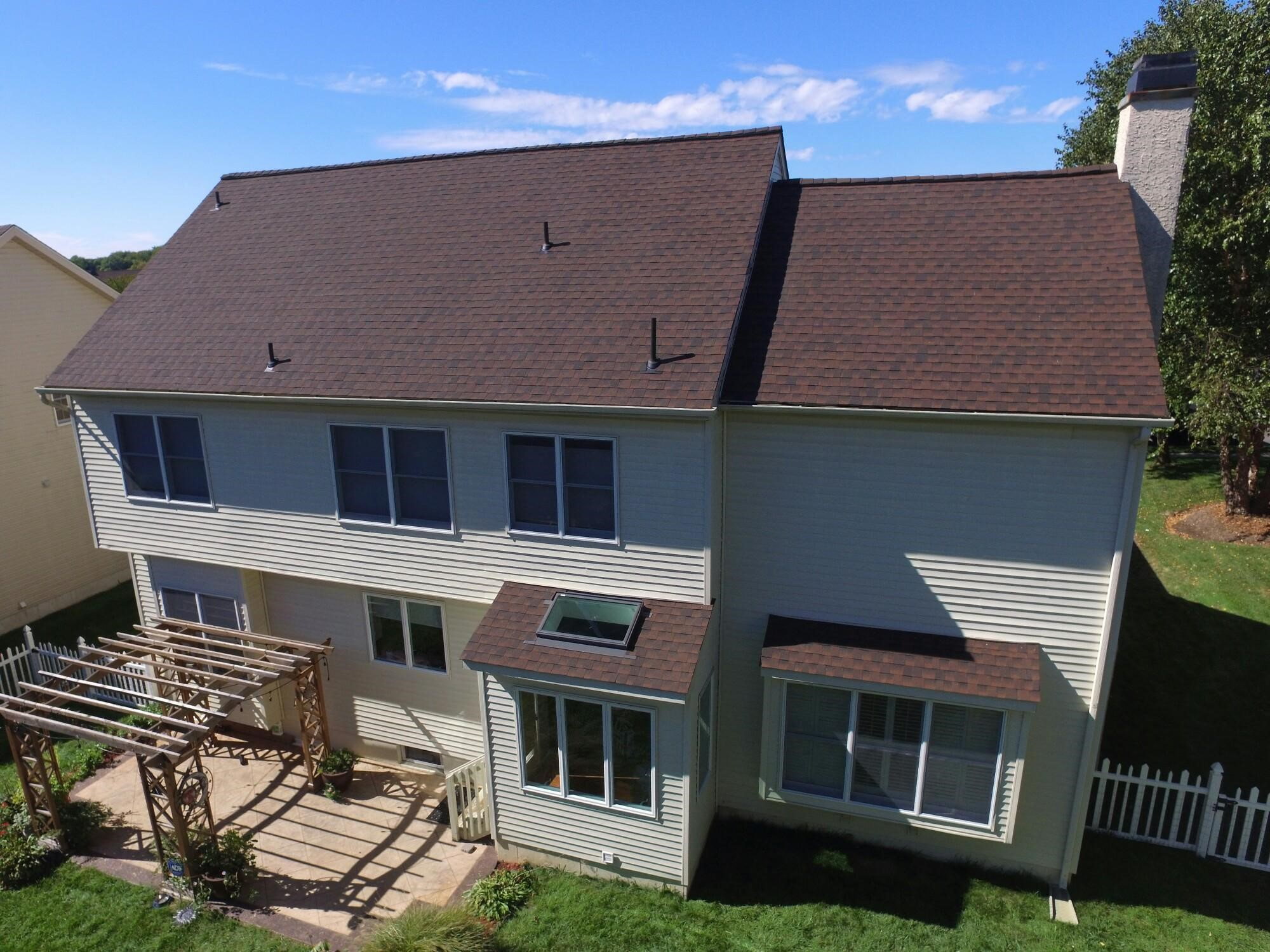 Gaf Timberline Hd Lifetime Roofing System With Hickory